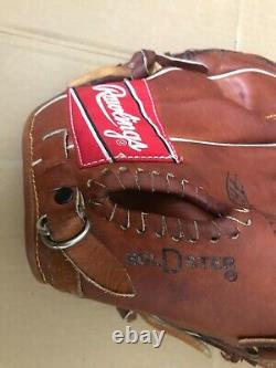 AMAZING! RAWLINGS GOLD GLOVE, HEART of the HIDE, FIRST BASE MITT. R-throw, 4 DOT