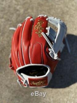 CUSTOM Rawlings heart of the hide baseball glove/ Pro Preferred A2k A2000 Wilson