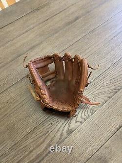 Custom Rawlings Heart Of The Hide 11.25 I Web Baseball Glove Brown