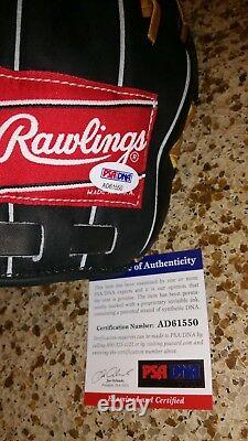 Ken Griffey Jr Signed Auto PSA/DNA Baseball Glove ball Rawlings Heart of Hide
