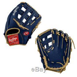 Limited Edition Custom Rawlings Heart of the Hide 12.25 Infield Baseball Glove