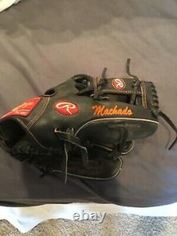 Manny Machado game used Orioles fielders glove. Rawlings heart of hide. MLB