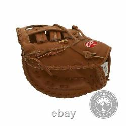 NEW Rawlings Heart of the Hide Series Baseball Glove in Tan First Base Mitt