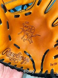NEW Rawlings PRO204W-2HTB Heart of Hide Wing Tip Baseball Glove 11.75 HORWEEN