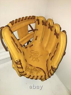 NEW Rawlings PROFL12-2GT RHT Heart of the Hide Baseball Glove 11.75 LINDOR