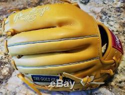 NWT Rawlings Heart of the Hide, 12 inch, Model PRO200-4 Baseball Glove RHT