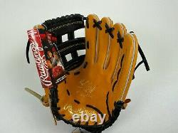 New! RAWLINGS Heart of the Hide Pro MLB OUTFIELD Baseball Glove 12 RH Throw HOH