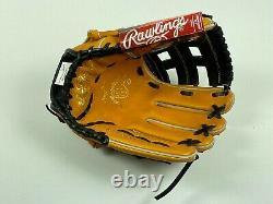 New! Rawlings Heart of the Hide Pro INFIELD Baseball Glove 12 PRO206-6JTB HOH