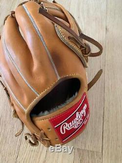 PRO1000HC-19-RHT Rawlings Heart of the Hide PRO1000HC Baseball Gl USED
