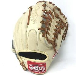 PRO2174-4-CAMEL-RightHandThrow Rawlings Heart of the Hide Baseball Glove 11.5
