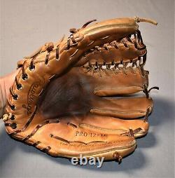 RARE Rawlings Gold Label Glove Heart Of The Hide PRO 12-TC Trapeze USA Baseball