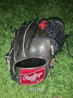 RAWLINGS HEART OF THE HIDE 12 Grey TRAP-EZE WEB PRO206-4DS