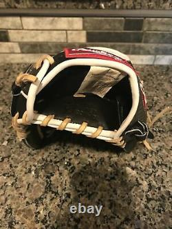 RAWLINGS HEART OF THE HIDE COLORSYNC 11.5-INCH I-WEB GLOVE Excellent RHT