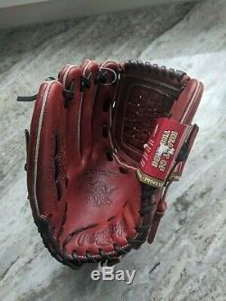RAWLINGS Heart of Hide HOH PRO502-3P Pitcher Baseball Glove 12.5 Lefty