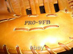 Rare 3 Dot Rawlings Heart Of The Hide Pro-9fb First Base Mitt / Glove 12.5 Lh