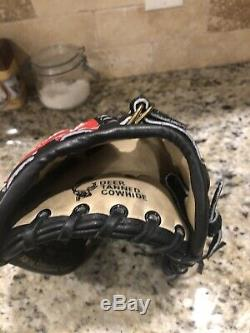 Rare Nwot Rawlings Heart Of The Hide Horween Made In USA Pro-6b 12 Rht Glove
