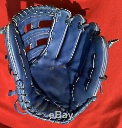 Rare Rawlings Blue Horween PRO-2HFBL Heart of Hide HOH USA Baseball Glove Mitt