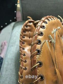 Rare Rawlings Heart of the Hide Made in USA First Baseman's Mitt PRO FB 13 RHT