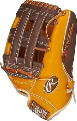 Rawlings 12.75'' Heart Of The Hide R2G Series Baseball Glove Left Hand Throw