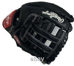 Rawlings Custom Heart Of The Hide Fielder Glove PRO204-6 Black Horween RHT 11.5