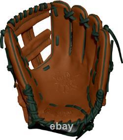 Rawlings Custom Heart of the Hide PRO205DM-1 Timberglaze Infield Glove 11.75