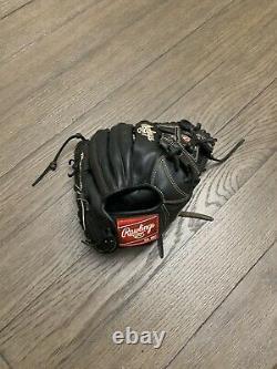 Rawlings Heart Of The Hide 11.5 I Web Baseball Glove Black