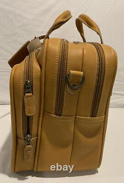 Rawlings Heart Of The Hide Leather Messenger Laptop Briefcase Bag Nwt New $650