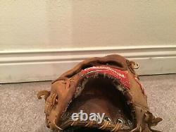 Rawlings Heart Of The Hide PRO-SPT Jay Bell Game Used Glove Gold Glove Winner
