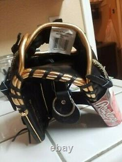 Rawlings Heart Of The Hide Pro Goldy IV 11.5 Gold Glove Club October 2020