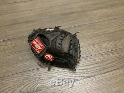 Rawlings Heart Of The Hide Pro Mesh 33 Catchers Mitt Baseball Glove Black