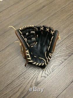 Rawlings Heart Of The Hide Pro Mesh Crawford 11.75 H Web Baseball Glove Brown
