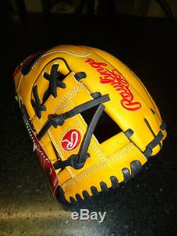 Rawlings Heart Of The Hide (hoh) Pro Issue Propl217-2gtpro Glove 11.25 Rh