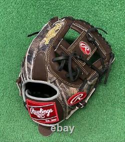Rawlings Heart of the Hide 11.5 Custom Mossy Oak Camo Baseball Infield Glove