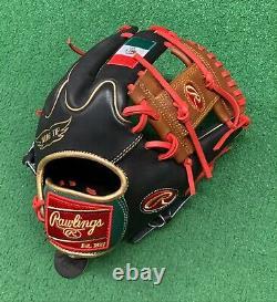 Rawlings Heart of the Hide 11.75 Custom Mexico Edition Baseball Infield Glove