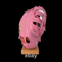 Rawlings Heart of the Hide 12.5 SMU Pink First Base Glove PROTM8SB-10P