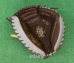 Rawlings Heart of the Hide 32.5 Custom Mossy Oak Camo Baseball Catchers Mitt