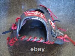 Rawlings Heart of the Hide PRO204DCC 11.5 Dual Core Baseball Glove Relaced RHT