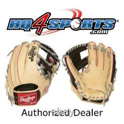 Rawlings Heart of the Hide PRO204-2CBG 11.5 Adult Infield Baseball Glove-RHT