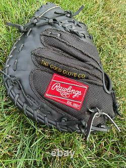 Rawlings Heart of the Hide Pro Mesh Yadier Molina PROSCM41JB Catchers Mitt RHT