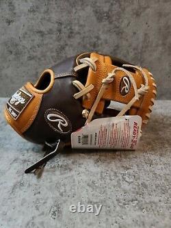 Rawlings Heart of the Hide R2G 11.75 inch Baseball Glove RHT PROR205W-2CH wing