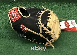 Rawlings Heart of the Hide R2G 33 Baseball Catchers Mitt PRORCM33-23BC