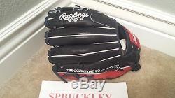 Rawlings Hoh Heart Of The Hide 11.25 Baseball Glove, Pro217-7jn, Nwt, Rht, Navy