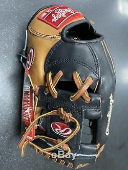 Rawlings Hoh Heart Of The Hide 11.5 Baseball Glove, Pronp4-2bgb, Gold Glove Club