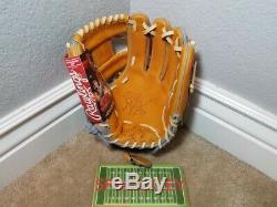 Rawlings Hoh Heart Of The Hide 11.5 Infield Baseball Glove, Pro204-2tg, Nwt