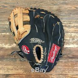 Rawlings Made In U. S. A. Heart of Hide HOH PRO-1HFB First 1st Base LHT Baseball
