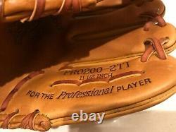 Rawlings PRO200-2TI Heart of the Hide Pro 11.5 inch Gold Glove Baseball Glove