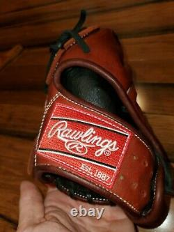 Rawlings PRO200-9P Heart of the Hide 11.5 inch Baseball Glove Left-hand throw