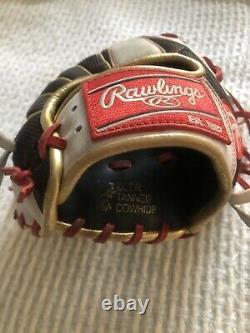 Rawlings PRO204DM-7 11 1/2 Heart of The Hide Infielders Baseball Glove