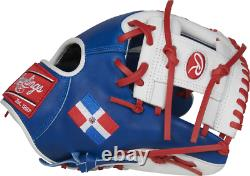 Rawlings PRO204W-2DR 11.5 Heart of The Hide Flag Collection Baseball Glove D. R