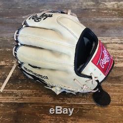 Rawlings PRO204-2BCC 11.5 Pro Label Heart of Hide Pro Preferred Baseball Glove